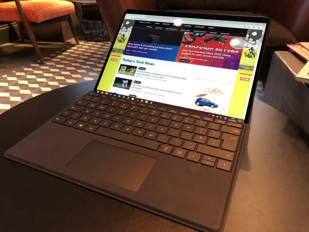 Revisión de Surface Pro X